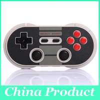 Wholesale New Bitdo Bluetooth Wireless Classic NES30 PRO Controller for iOS and Android Gamepad PC Mac Linux
