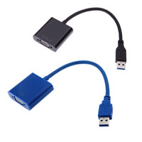 Wholesale USB to VGA Multi display Adapter Converter Cable External Video Graphic Card V667