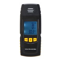 Wholesale GM8805 Portable Handheld Carbon Monoxide Meter High Precision CO Gas Detector Analyzer Measuring Range ppm detector de gas E0512