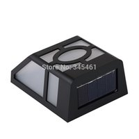 automatic fence - 10pcs Solar Lamp No wiring additional power supply Wall Mounted Solar light for Fence Wall Automatic Sensor Led light order lt no