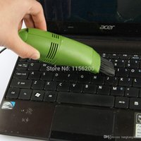 Cheap 1 Pcs Usb Gadget Mini USB Vacuum Keyboard Dust Cleaner Dust Collector Tool For Laptop PC Computer-Green