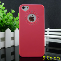 Wholesale new arrival fashion rose hard cover for apple iphone s back case cover for iphone4 iphone4s