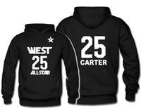basketball jacket design - All Star basketball jacket fans designed for Vince Carter on the th jersey Wei hat shirt sweatshirts