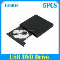 Wholesale USB External Combo DVD ROM CD ROM XA CD RW CD RW Burner DVD Driver For Laptop PC