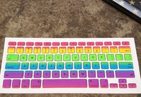 bg keyboard - Laptop Colorful gradient BG US keyboard cover case protetor for Apple macbook pro inch keyboard protective Film