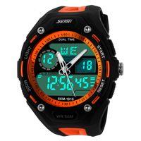 Wholesale Skmei Watch M Waterproof Men LED Digital Military Watch Dive Swim Dress Sports Watches Fashion Outdoor Men Wristwatches