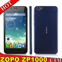 Cheap ZOPO ZP1000 Ultrathin Smartphone MTK6592 Octa Core 5.0 Inch 1GB 16GB Android 4.2 OTG Golden CellPhone