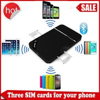 Wholesale Mini dual sim adapter via bluetooth kalf long standby battery for android ios