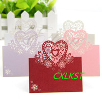 Wholesale Cut out Wedding Birthday Christmas Table Decoration Place Name Cards Hot Good Quality Brand New