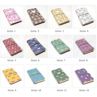 paper notebook - Cute spiral portable notebook Fine creative trand travel journal Kawaii bandage diary daily planner filofax for girl