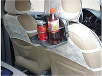 Wholesale 2015 Hot selling Folding Car Auto Food Meal Drink Tray Desk Dining Table Water Cup Stand Holder