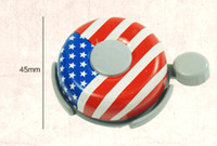 alarms us flag - New CoolChange Brand Metal Ring Handlebar Bell Sound Alarm for Bike Bicycle High Quality US Flag Bicycle Bell Ring