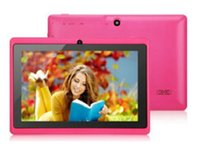Wholesale cheap dhl Q88 A23 G M inch Cheapest Dual Core ATM7021 Tablet inch Mini Tablet PC HDMI More Color Google Play Store Android Jelly