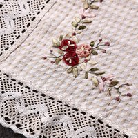 Wholesale Soft Home Cotton Sofa Cover Coffee Table Covers Fundas Para Sofas Embroidered High Quality European Style Housse Canape Co