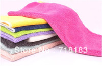Wholesale Random Mixed Non Stick Oil Towel Dish Towel Small Household Cleaning Towel Factory Direct X30CM