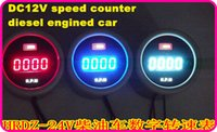 Wholesale DC24V diesel engined car truck Digi speed counter tachometer tachograph speed meter guage for Kamaz Maz Benz Commins ect