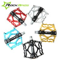 Wholesale ROCKBROS High Quality Mountain Bike Pedals MTB BMX Road Cycling Sealed Bearing Pedals BMX Ultra Light Bicycle Pedals Colors