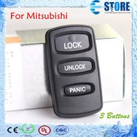 Wholesale 3 Buttons Remote Key Cover for Mitsubishi Car Key Shell for Replacement DHL Free A