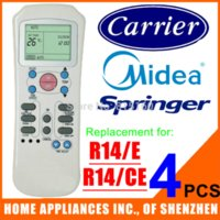 air midea - Carrier Springer Midea Split And Portable Air Conditioner Remote Control R14 E Compatible with R14 CE control desk