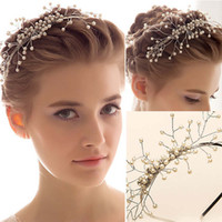 Wholesale 2016 Fashion Bridal Hair Accessories Wedding Accessories Elegant Bridal Crown Tiara Headpieces Frontlet Hair Band Headbands for Bridal T422