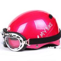"Cheap Wholesale-D.11 Free Shipping Taiwan "" EVO "" ABS 1 2 Half Helmet Scooter Motocycle "" Moto MY BIKE "" Matt Black Helmet"