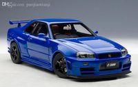 autoart models - AUTOART NISMO R34 GT R Z TUNE alloy car model collection