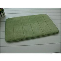 Wholesale 2014 New arrival Popular Slow rebound Memory Foam Kitchen Floor Bath Mat Doormat Rug Green Colors Soft Touch Durable