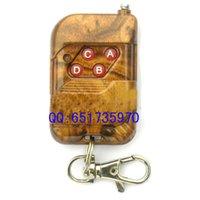 Wholesale 4 button wireless remote control remote control transmitter handle Remote control Frequency