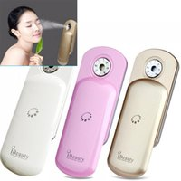 beauty apparatus machine - 2015 ibeauty Nano Handy Mist Spray Face Apparatus Facial Moisturizing Humidifier Mini Cold Sprayer Machine Beauty Equipment face steamer