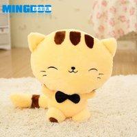 babu doll - Cute kitty doll big cat face plush toy doll pillow doll big tail Babu Dolls toy