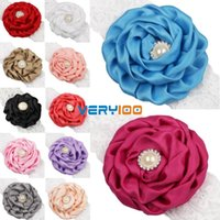 Wholesale 12pcs Baby Girl Kids Toddler Lace Flower Headband Hair Band Accessories Headwear order lt no track