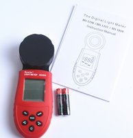 Wholesale 2016 latest Lux Digital Light Meter LCD Luxmeter Lux FC Luminometer Photometer Measure Tester