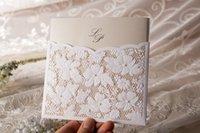 Wholesale 2015 New Personalized Elegant Laser Cut Wedding Invitations Wishmade Convite Casamento Event Party Supplies Invitations sets