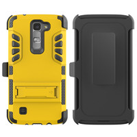 america clips - America hot selling in hybird hard kickstand case without clip For LG K7 M1