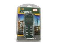 Wholesale Hot sale Mastech MS6450 Electronic LCD laser Rangefinders Hand held M Laser Pointer Tester Estimator Range Finder