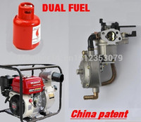 Wholesale LPG water pump engine F GX200 dual fuel carburetor TONCO