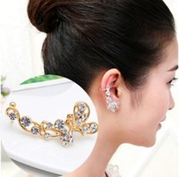 auger types - New Style Earrings Exaggerated Personality Fashion Set Auger Butterfly Style U Type Earrings Stud