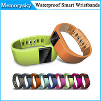 Wholesale 2015 Fitbit Flex Charge Style TW64 Smartband Waterproof IP67 Smart Bracelet Wristband Bluetooth for IOS Iphone Android Phone