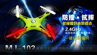 battery operated radios - 2 G Remote Control Toys CH axis RC Quadcopter Mini rc helicopters Radio Control Aircraft RTF Drone Airplane Model Without Battery