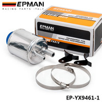 Wholesale EPMAN High Quality Fuel Cell Racing Power Steering Tank Pump Aluminum Breather Tank With Brackets EP YX9461