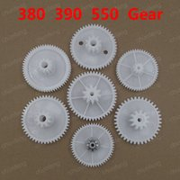 Wholesale RS380 RS550 motor gear box plastic gear for electric motor plastic gears for toys