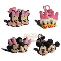 Headbands band clips - New Arrival pair Mickey Minnie Accessories Hairpins Headwear Girls Hair Accessories Girls Hair Clips Hair Bands Hair Ropes Kids Gifts