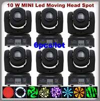Wholesale lights LED Moving Head Spot Light w mini led moving head light with gobo