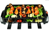 adjustable electric oven - Household electric grill electric indoor electric oven smokeless barbecue skewer machine
