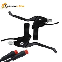 Wholesale Passion Ebike Waterproof Interface Electric Bicycle Brake Line Lever Electric Bike Parts Brake Line Lever Sondors eBike Parts