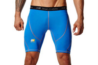 bead boxers - Top quality StanCaleb workout gear sport men shorts boxers pro tight compression shorts gym shorts basketball running short