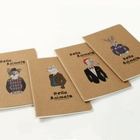 Wholesale Random Design Novelty Print Notebook For Student Kid Office School Gift Supplies Diary Journal Writing