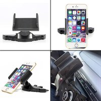 Wholesale Universal Adjustable CD Player Slot Smartphone Mobile Phone Car Mount Holder
