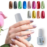 Wholesale Metal Colors IDO Gelish Choose Any One Color UV Gel Nail Polish Nail Art Soak Off Manicure Kits