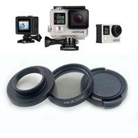 Wholesale 37mm GoPro CPL Filter Circular Polarizer Lens Filter with Cap for GoPro Hero Price